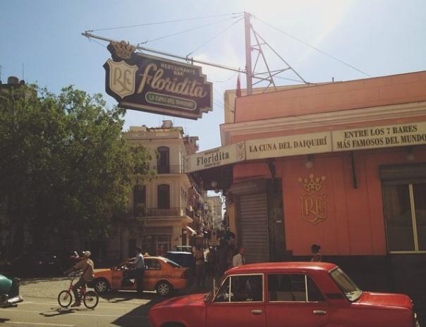La Habana, 3 de agosto de 2014. Restaurante Floridita, foto tomada por Núria Aparicio
