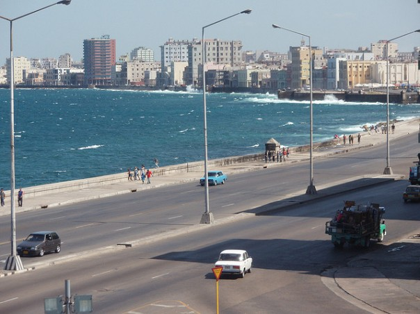 La Habana. malecón. Foto: contafisca