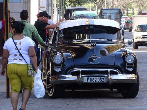 De los viejos tiempos en Cuba. Foto: Rolf Werdehausen, marzo 2015.